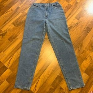 Chic Tapered Jeans High Rise Women Size 14 Tall